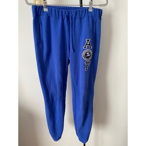 Abercrombie&Fitch women's blue sweatpants